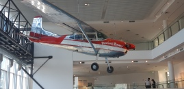 Avião do explorador Miguel Fitzgerald