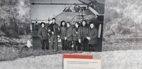 """Seção """"As mulheres nas Malvinas"""""""