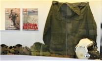 Equipamentos dos soldados argentinos