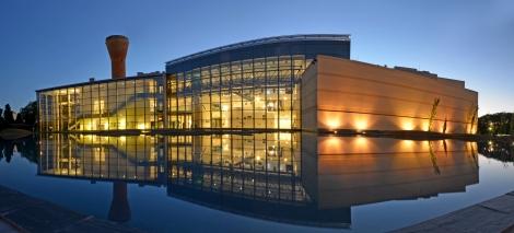 O museu à noite - Crédito: Museo Malvinas