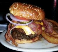 Double Bypass Burger - o menorzinho de todos!