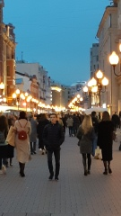 Rua Arbat - Moscou