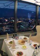 Jantar na Torre Ostankino
