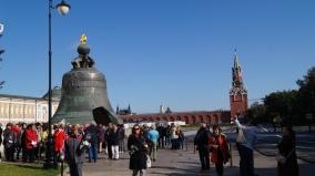 O maior sino do mundo - Kremlin, Moscou