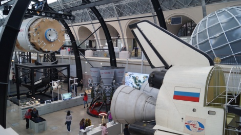 O Buran era o ônibus espacial russo
