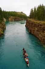 Passeio no Rio Yukon