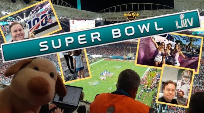 A experiência de ver o Super Bowl!