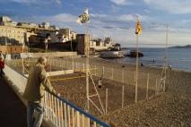 A Plage des Catalans é um famoso reduto do vôlei de praia