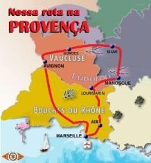 Mapa Provença