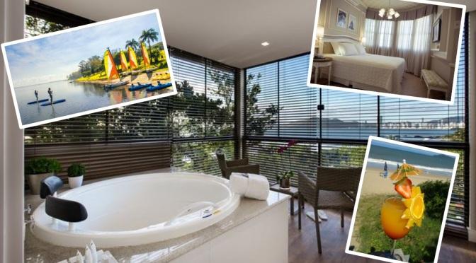 Cinco hotéis no Brasil